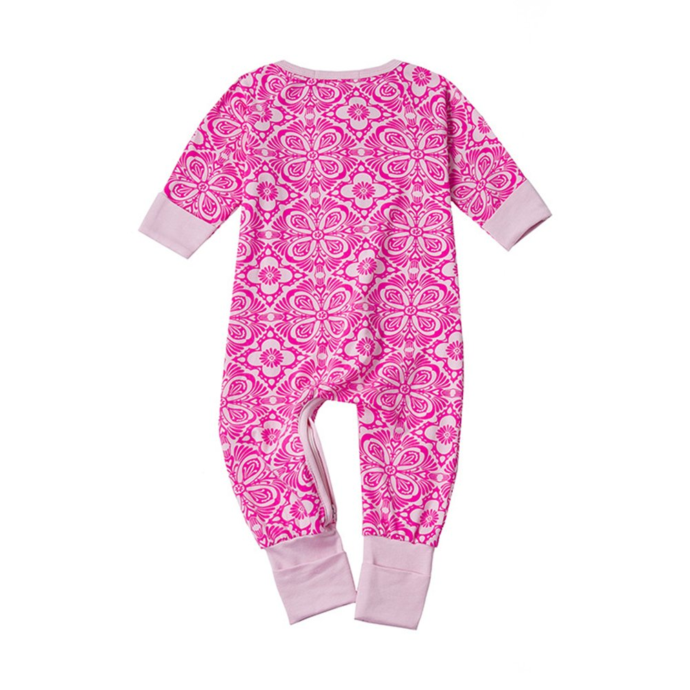 Honey$Homey Unisex Baby Romper Long Sleeve Jumpsuit for 0-36 Months