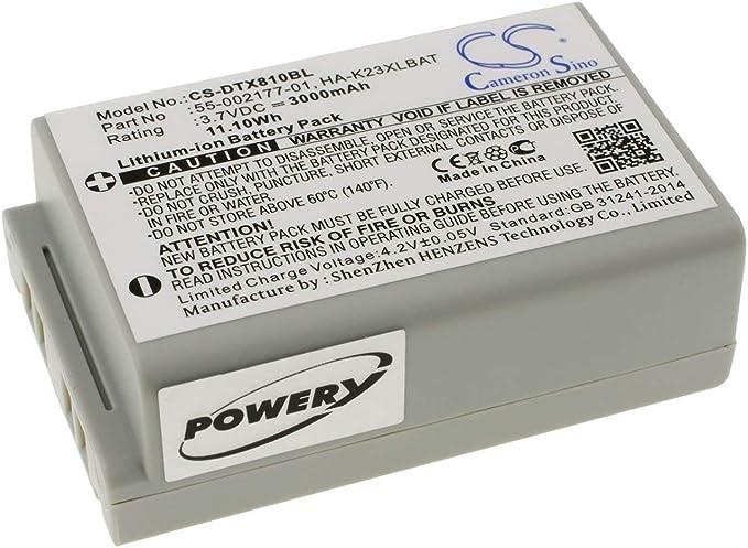 3,7V Akku Li-Ion für Casio ersetzt 55-002177-01 HA-K23XLBAT 3000mAh