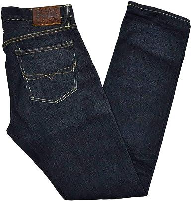 Amazon Com Polo Ralph Lauren Slim Straight 018 Pantalones Vaqueros Para Hombre 38 X 30 Clothing