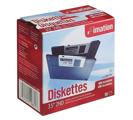 Imation 12881 - Caja de 10 disquetes de Alta Densidad 3.5