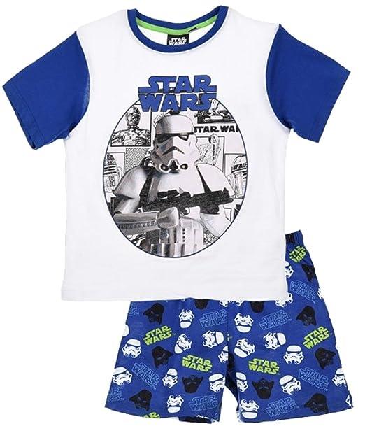 Star Wars - Pijama dos piezas - para niño azul 6 Años (116 cm)