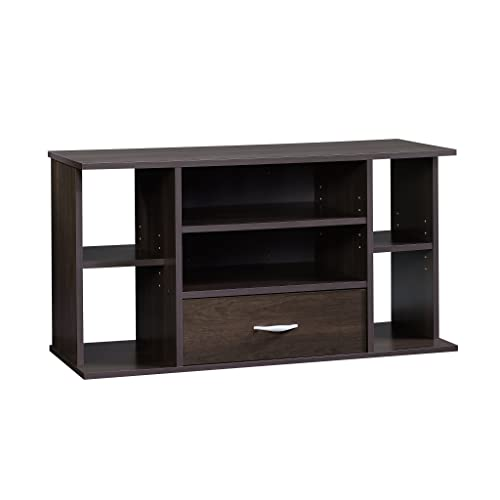 Sauder Beginnings Panel TV Stand, For TV s up to 42 , Cinnamon Cherry finish