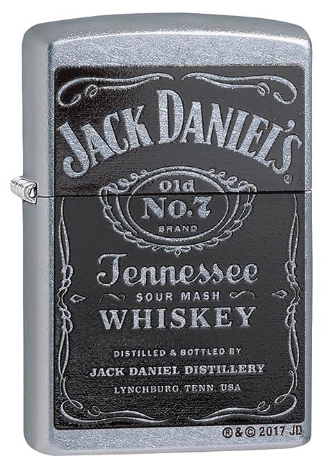 Zippo Jack Daniels Cromo - Encendedor de cocina (Cromo, ...
