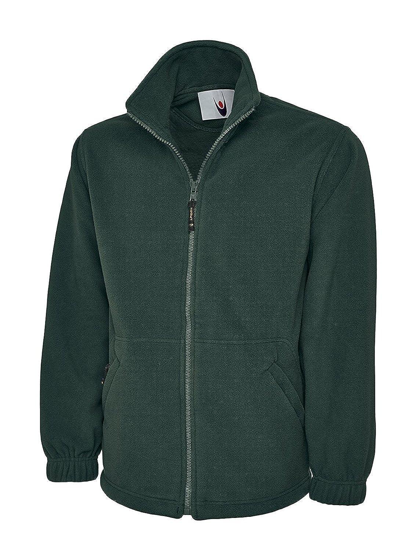 bcc976ce15a6 Uneek Premium Full Zip Micro Fleece Jacket Mens 380 GSM - 7 Colours  Available  Amazon.co.uk  Clothing