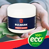 Hand Cream for Hard Working Hands - Mighty Hands from Bulwark, 100% Natural Safe Barrier Cream for Men, with Shea Butter, Vitamin E & Hemp Oil, Skin Repair Intensive Hand Balm.