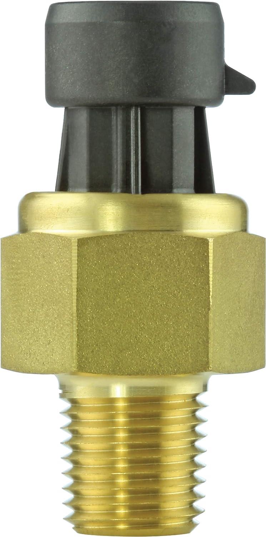 Pressure Sensor, Heavy Duty, 100 psi, Ratiometric, Sealed Gauge, 5 VDC, 1/4