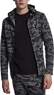 Urban Classics Interlock Camo Zip Jacket, Sweat-Shirt À Capuche Homme 8ffd82bfec15