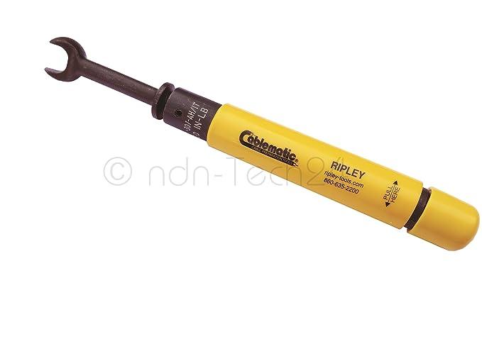 Cable eléctrico de llave dinamométrica para apriete coaxial F-connettore 11 mm