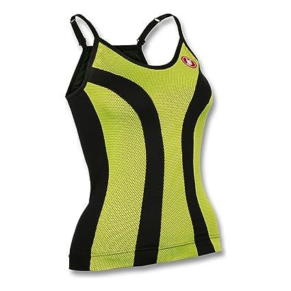 Amazon.com   Castelli Womens Ipnosi Cycling Top - A14054 (black lime ... b90044613