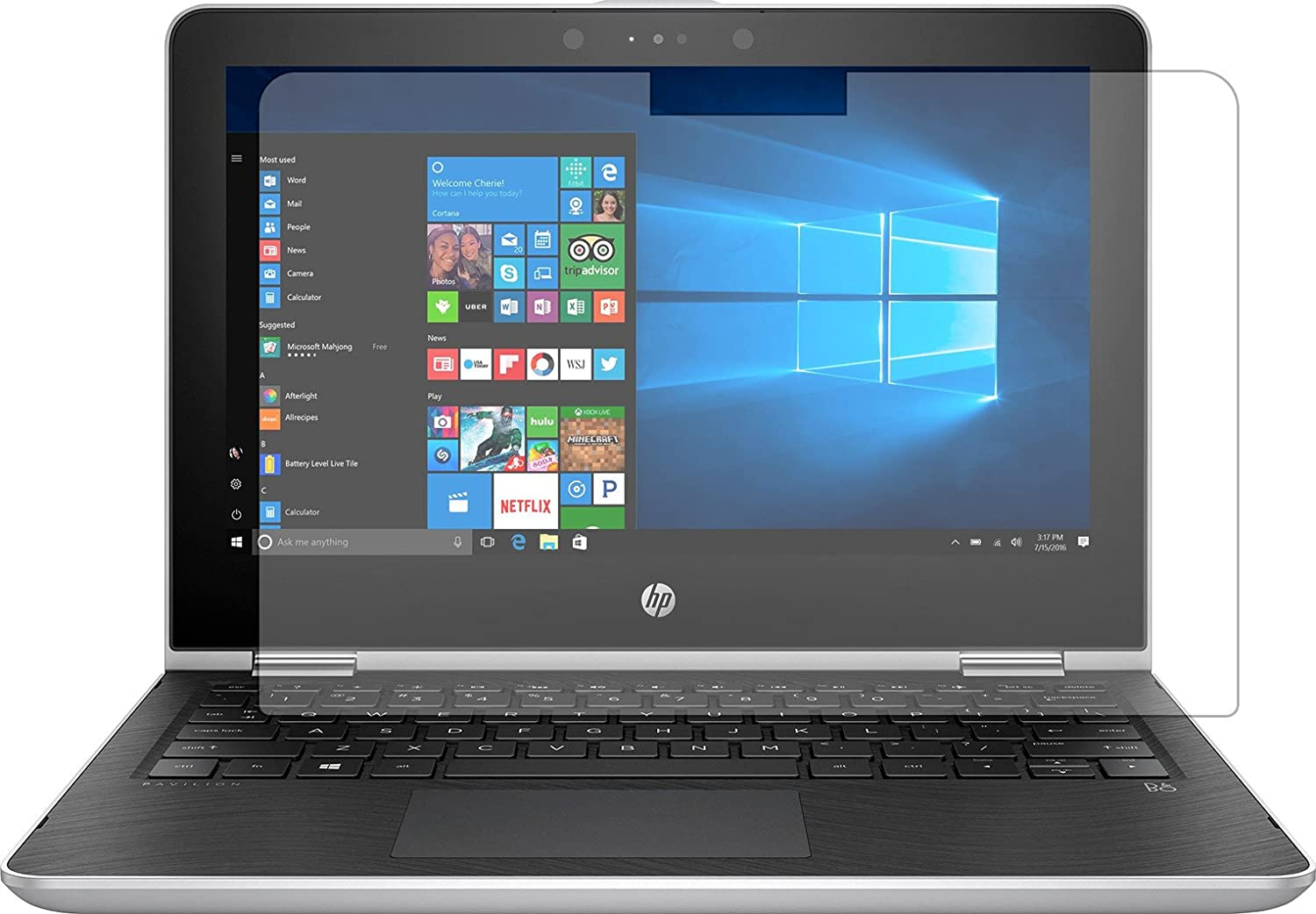 Hp Pavilion X360 2 In 1 11 6 Screen Protector High Clarity Anti Glare Computer Screen Protector Computer Screen Protector Computers Tablets Network Hardware