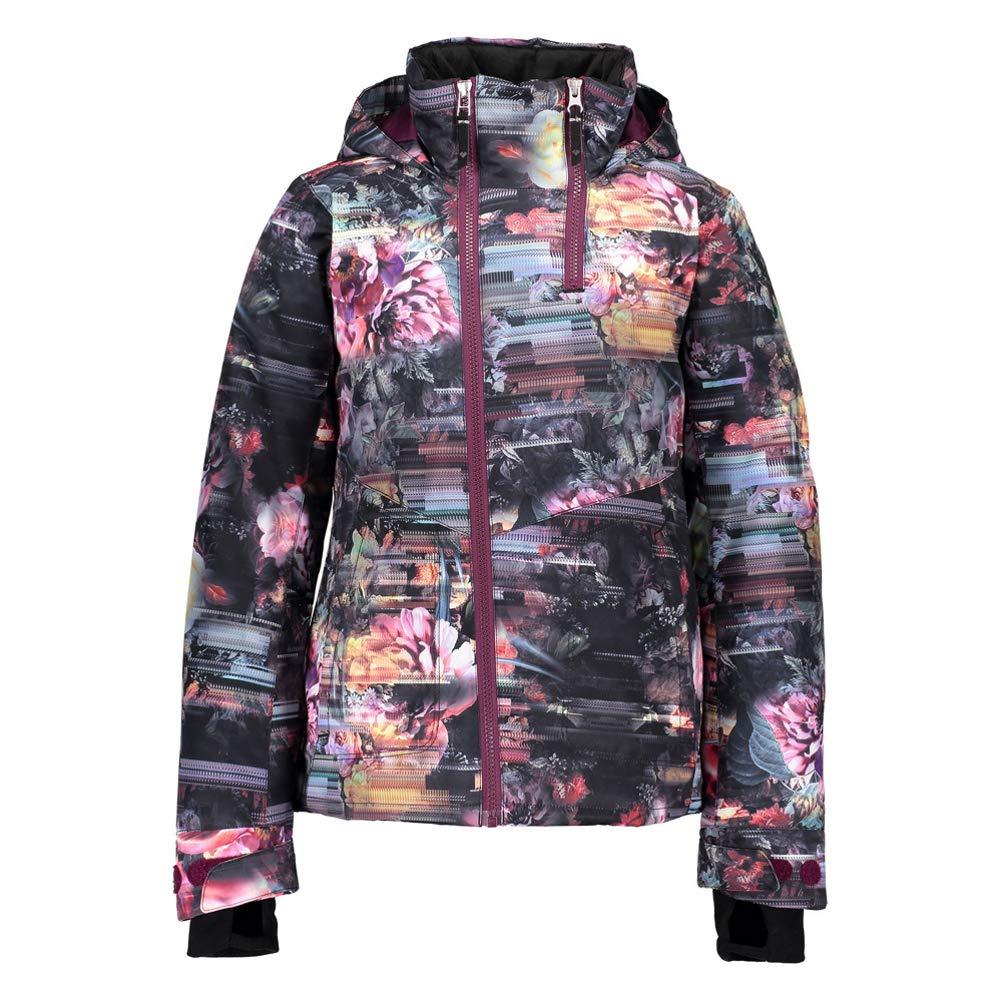 Little Kids//Big Kids Scattered Floral XL 18 Big Kids Obermeyer Kids Girls Taja Print Jacket