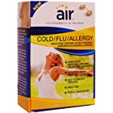 AIR Cold/Flu/Allergy Advanced Nasal Filter, Medium, 12 Count