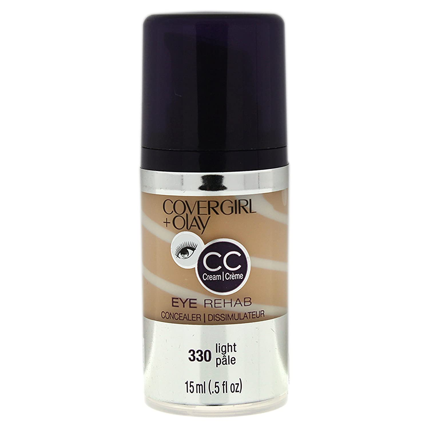 COVERGIRL + Olay Eye Rehab Concealer Light 330, .5 oz (packaging may vary)