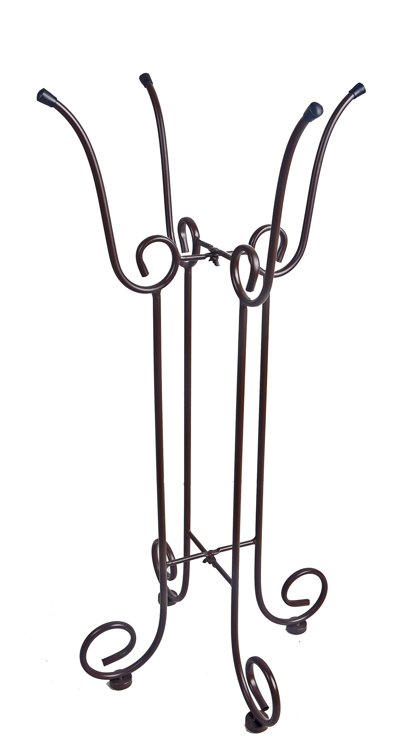 Continental Art Center Metal Bird Bath Stand, 17 by 17 by 33-Inch by Continental Art