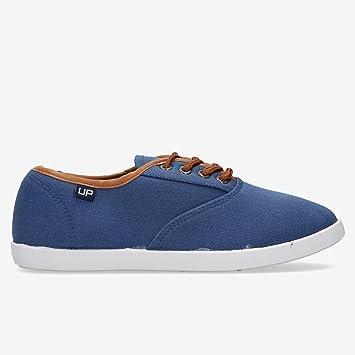 Zapatillas Lona Azules Marino Mujer Up (Talla: 37): Amazon.es: Deportes y aire libre