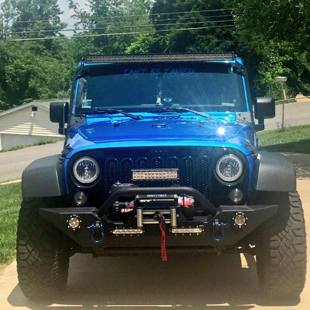 Willpower 25 inch 162W Spot Flood LED Work Light Bar Waterproof Driving Lights Off Road Lights for Truck Car ATV SUV 4X4 Jeep Truck Driving Lamp 4332996316