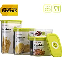 Tartek Kitchen Airtight Stackable Food Storage Containers Set