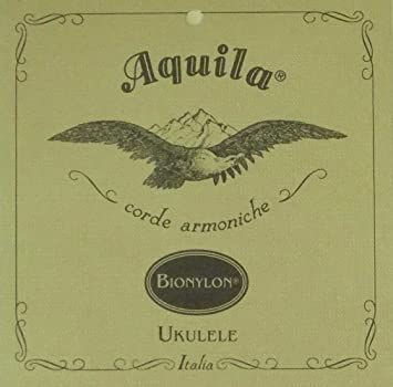Aquila Aq u BN 58U BioNylon Ukulele Set GCEA Soprano, Low-Sol, Wound