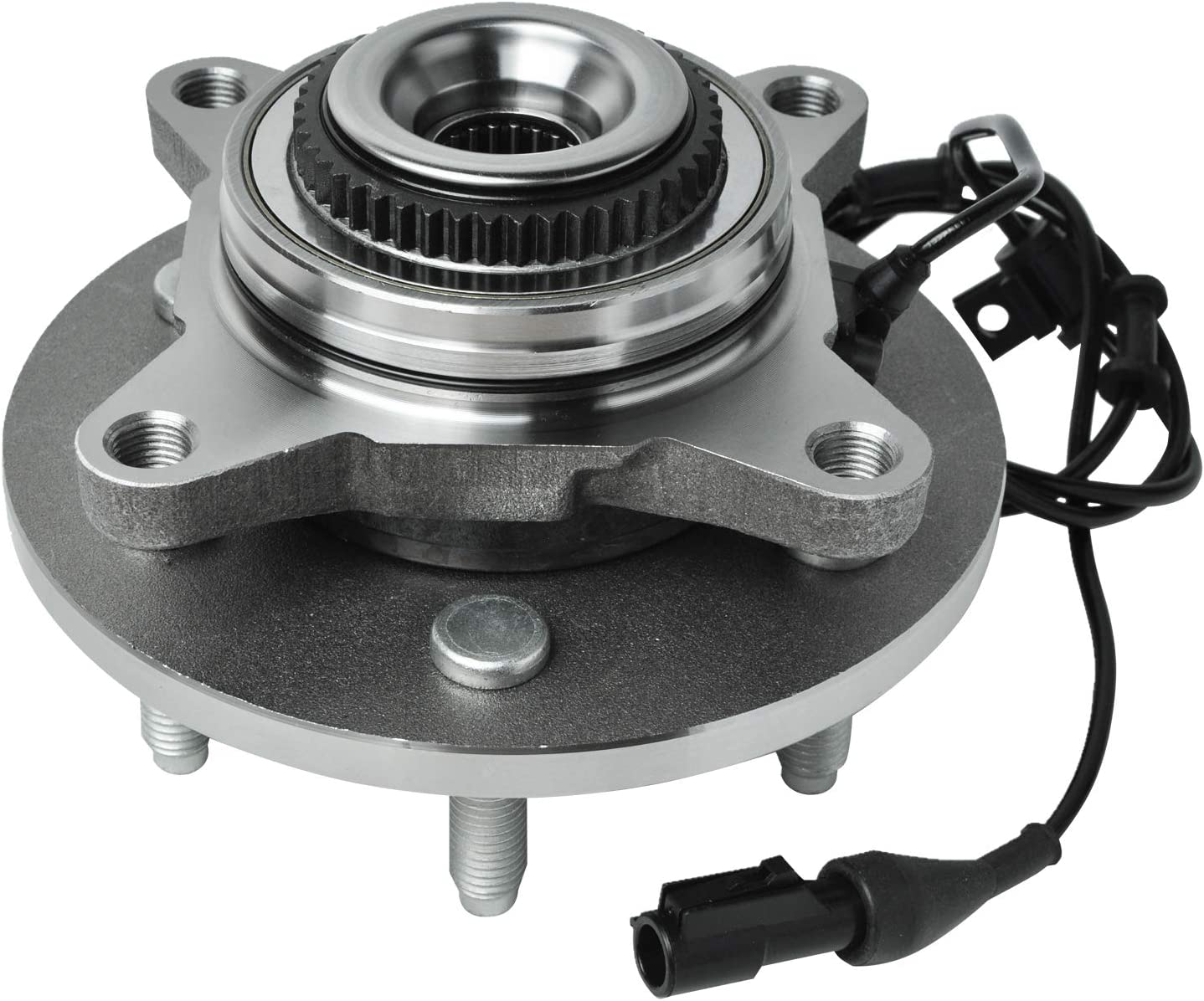 SCITOO Compatible with 515043 Front Wheel Hub Bearing Assembly fit 03-06 Ford Lincoln 6 Lugs w//ABS