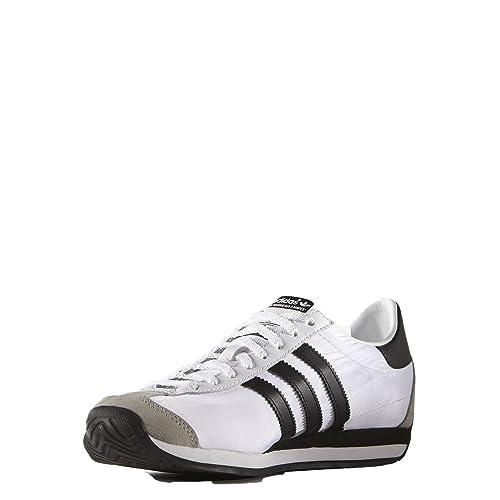 0eb80ebef Adidas Men s Original Country OG Shoe White Core Black Solid Grey (S79106)