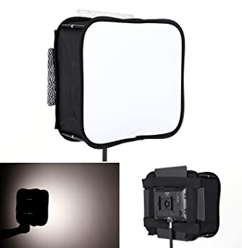 sb600 softbox diffuser for yongnuo yn600l ii yn900 led video light panel foldable portable soft filter