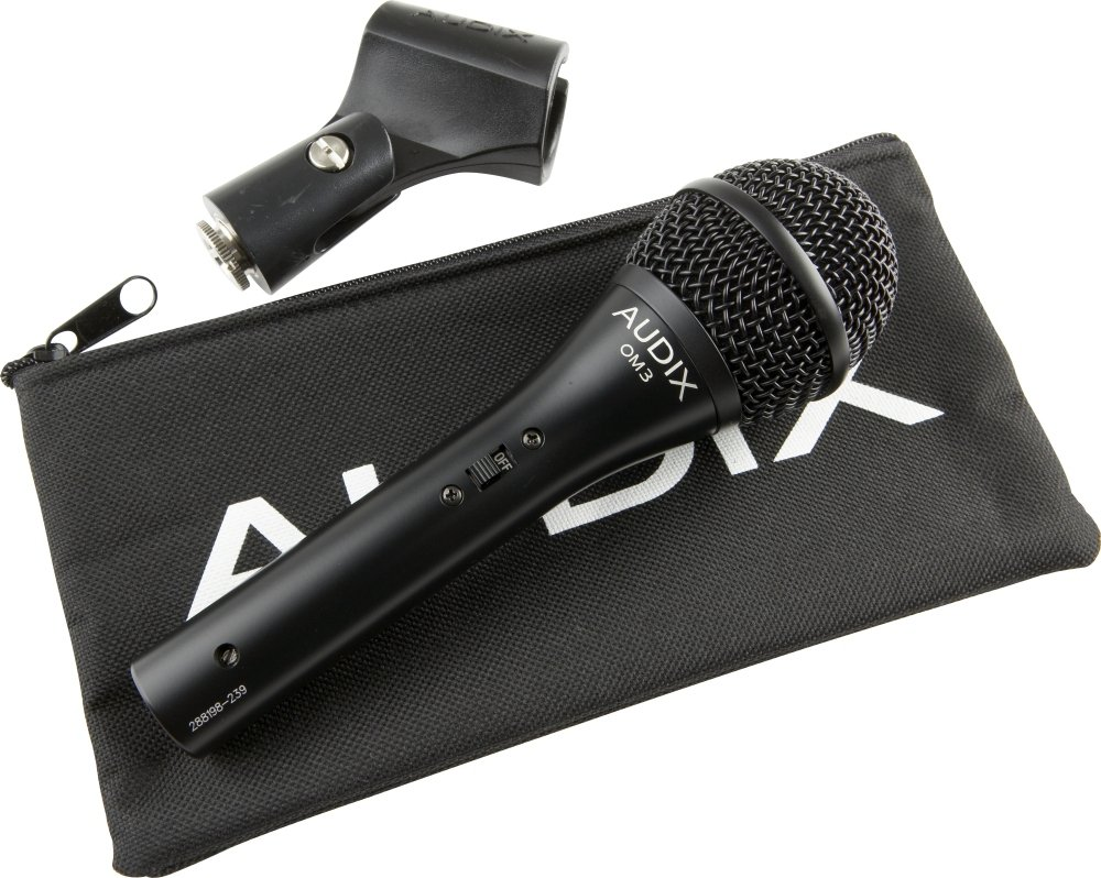Microfono Audix OM3-S Hypercardioid Vocal  with Switch...