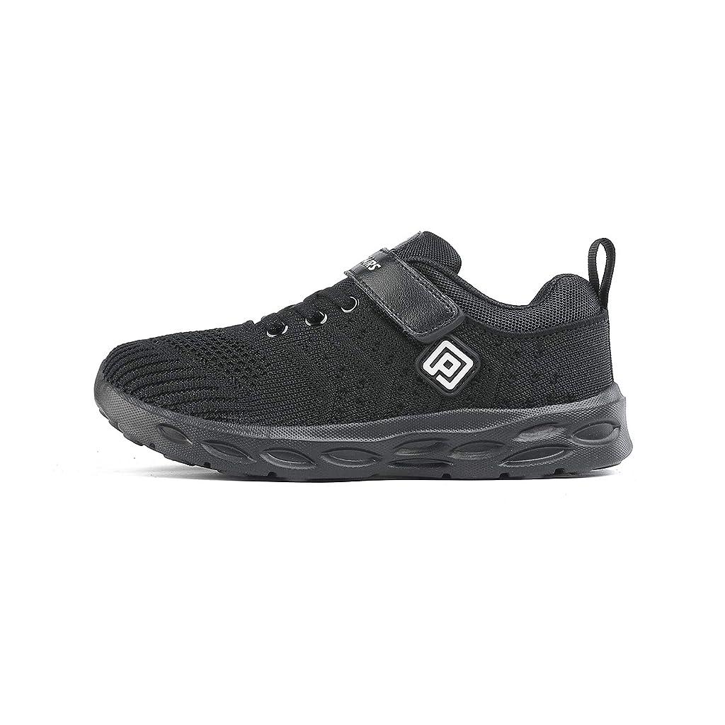 DREAM PAIRS Boys Girls Slip on Running Shoes Sneakers