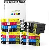 15 XL Ink Cartridges Replacement for Epson Expression Home XP102, XP202, XP212, XP215, XP205, XP225, XP30, XP302, XP305, XP312, XP315, XP322, XP325, XP402, XP412, XP415, XP405 XP405WH XP422 , XP425 Printers NON OEM
