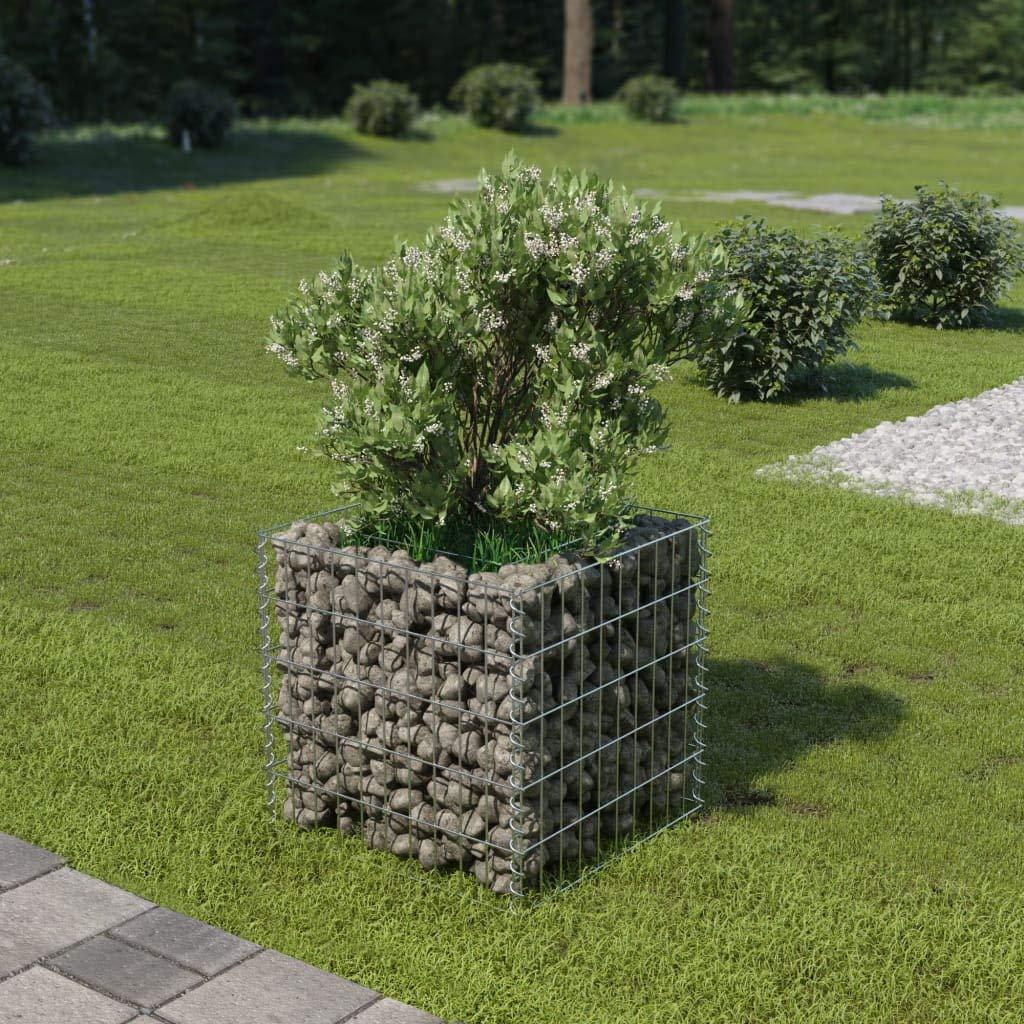 Amazon Com Tidyard Gabion Basket Planter Raised Vegetable Flower
