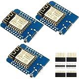 IZOKEE Development Board for ESP8266 ESP-12F 4M Bytes WLAN WiFi Internet Development Board Compatible with Arduino (Pack of 3)