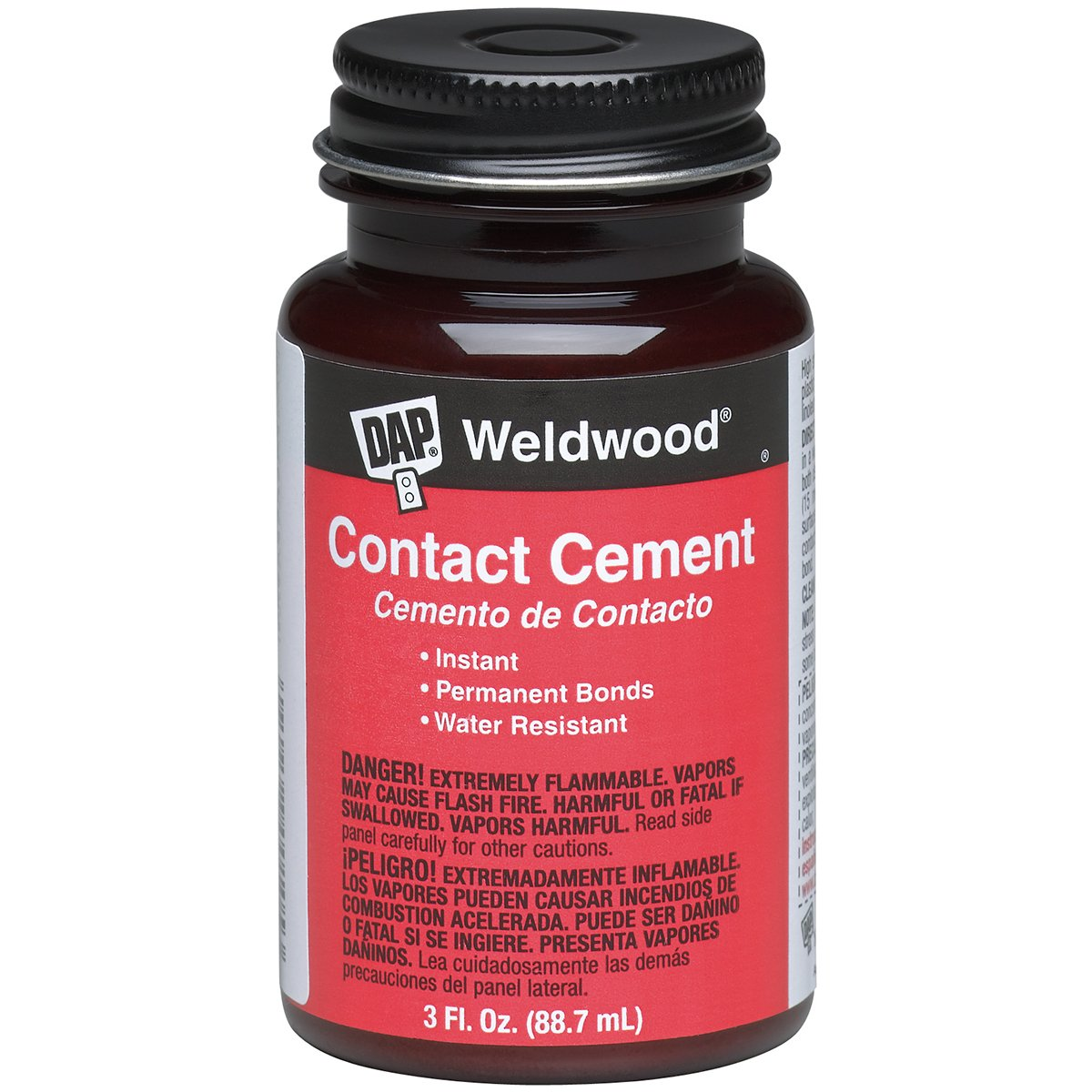 DAP 00107 Weldwood Original Contact Cement,3 oz
