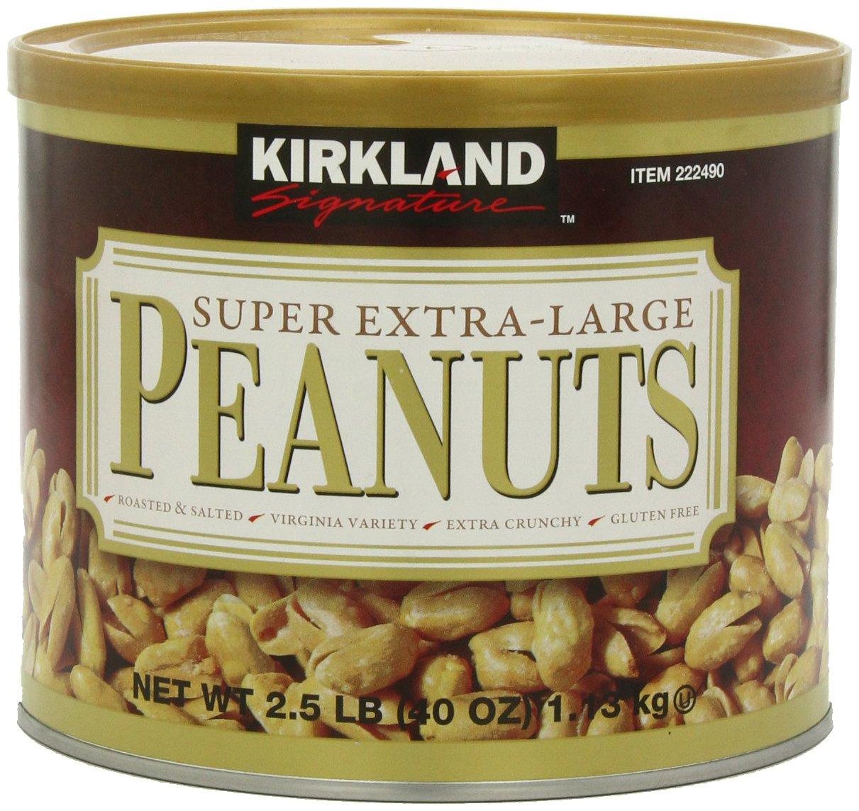 Kirkland Signature Super XL VA Peanuts, 40 Ounce by Kirkland