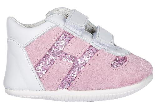 Hogan Zapatos Zapatillas de Deporte niña Olympia Rosa EU 19 HXB0520Z330IBE0ZEA: Amazon.es: Zapatos y complementos