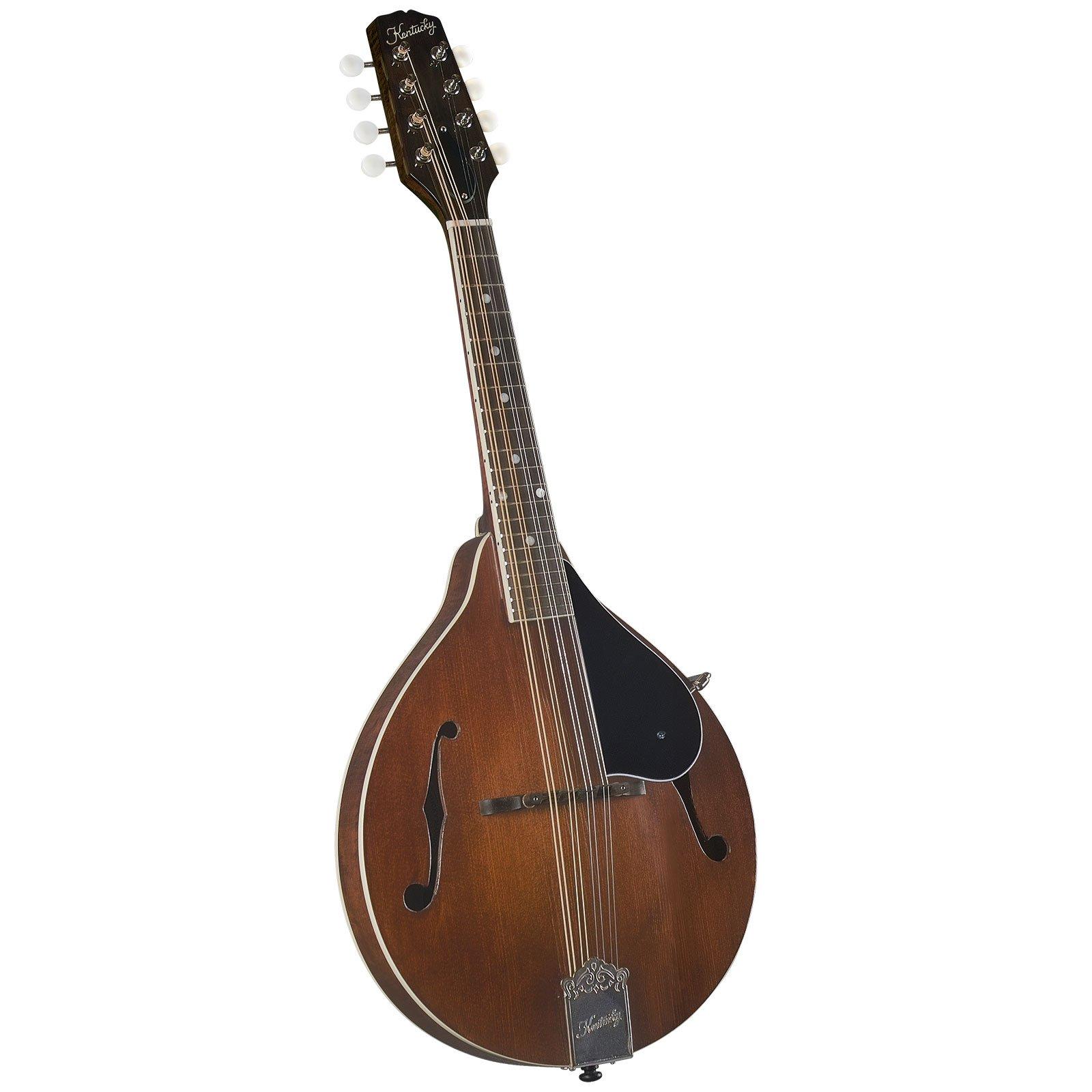 Kentucky KM-156 Standard A-Model Mandolin - Transparent Brown