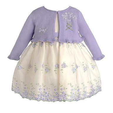 American Princess - Vestido - para niña Cremeweiß Lila