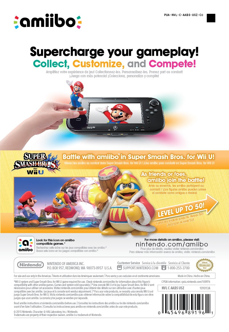 King Dedede amiibo (Super Smash Bros Series) by Nintendo (Image #4)