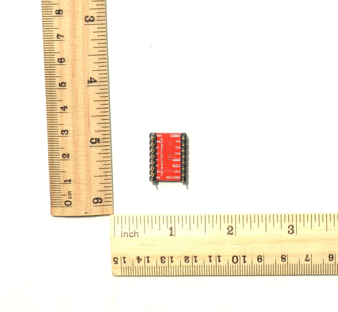 Sensor De Nube Impresora 3D A4988 Controlador De Motor Paso A Paso 2 Onzas De Placa De Soldadura De Pines Rojos (Paquete De 4 Pcs): Amazon.es: Industria, ...