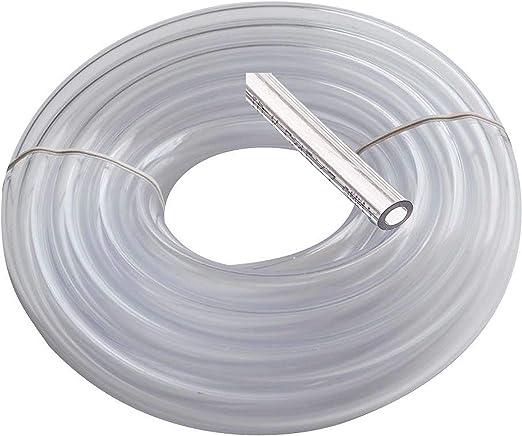 Tubo de vinilo neumático de Utah, 0,79 cm ID 1,11 cm Od 0,9