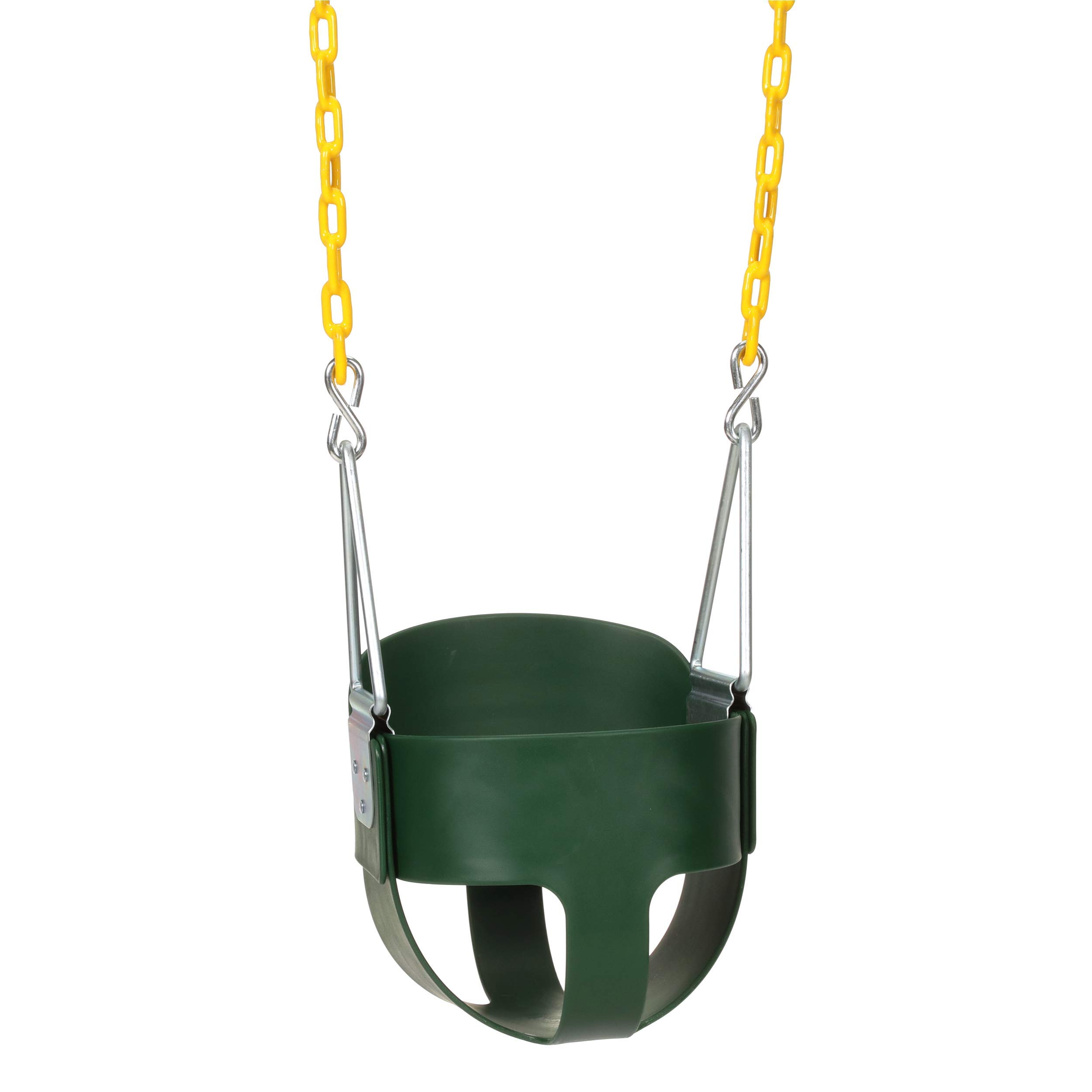 Eastern Jungle Gym Heavy-Duty High Back Full Bucket Toddler Swing Seat with Coated Swing Chains Fully Assembled by Eastern Jungle Gym