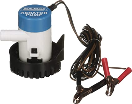 BOAT MARINE FISHING Aeration Pump System Keep Bait Lively Salt or Fresh Water