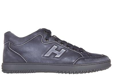 Chaussures baskets sneakers homme en daim h254 h flock Hogan eGzXa