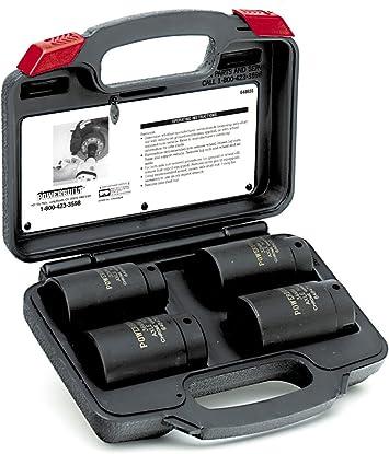 Powerbuilt Alltrade 648635 Kit 10 Axle Nut Socket Tool Set