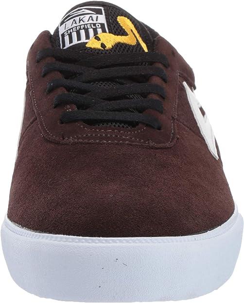Chocolate Suede Lakai Footwear Sheffield Simon Chocolate Suedesize Tennis Shoe