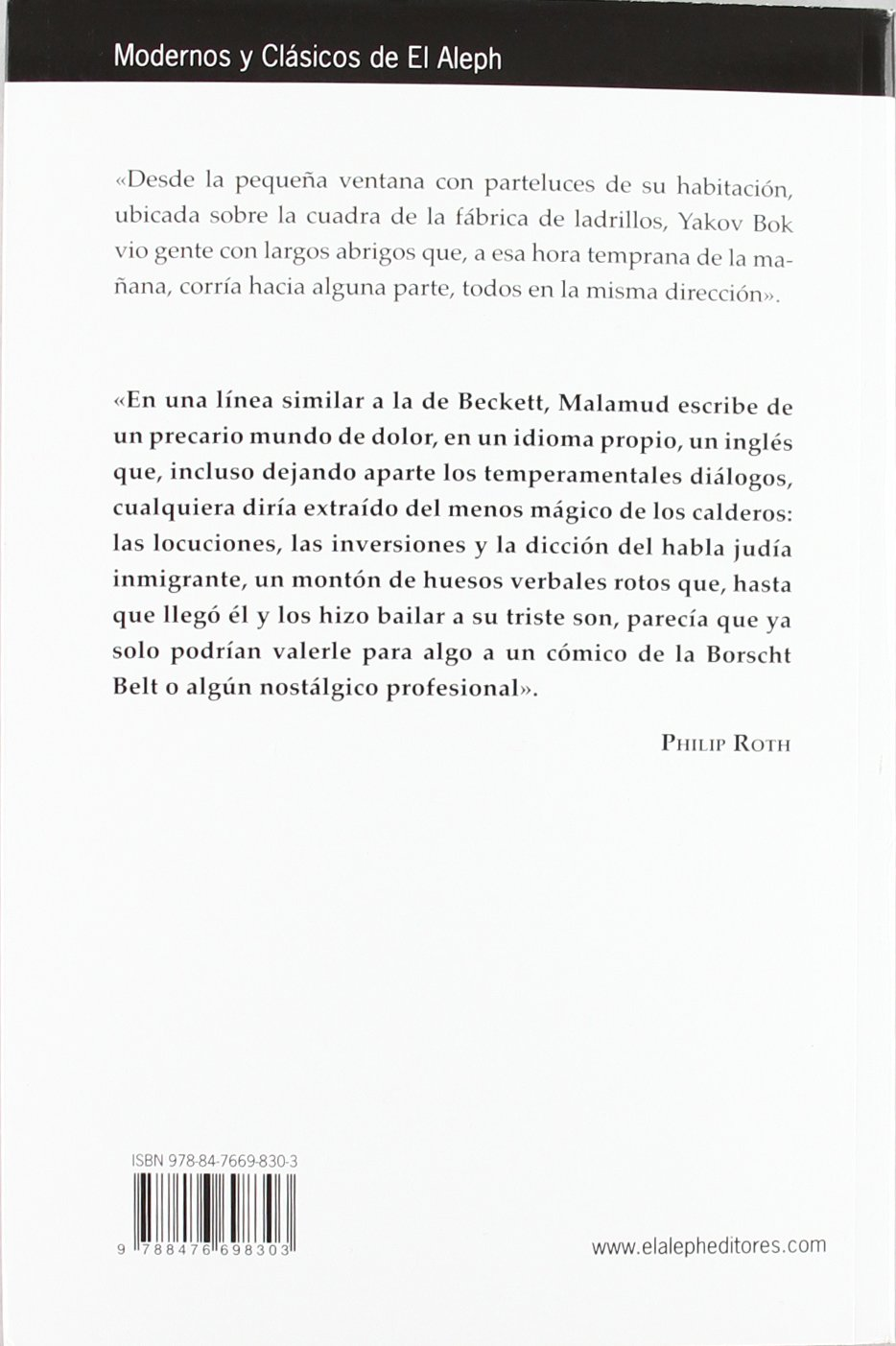 El reparador: Bernard (1914-1986); Rodríguez-Vida, Susana (1948-) , (tr.) Malamud: 9788476698303: Amazon.com: Books