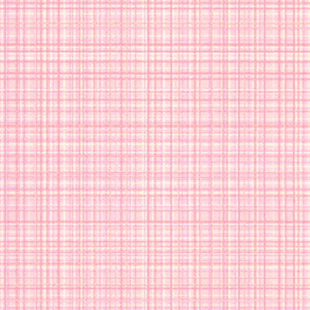 リリカラ 壁紙31m ナチュラル チェック ピンク LL-8373 B01MQFJW43 31m|ピンク