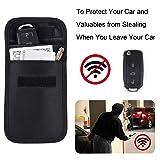 RFID Key Fob Protector, Wisdompro RF Signal