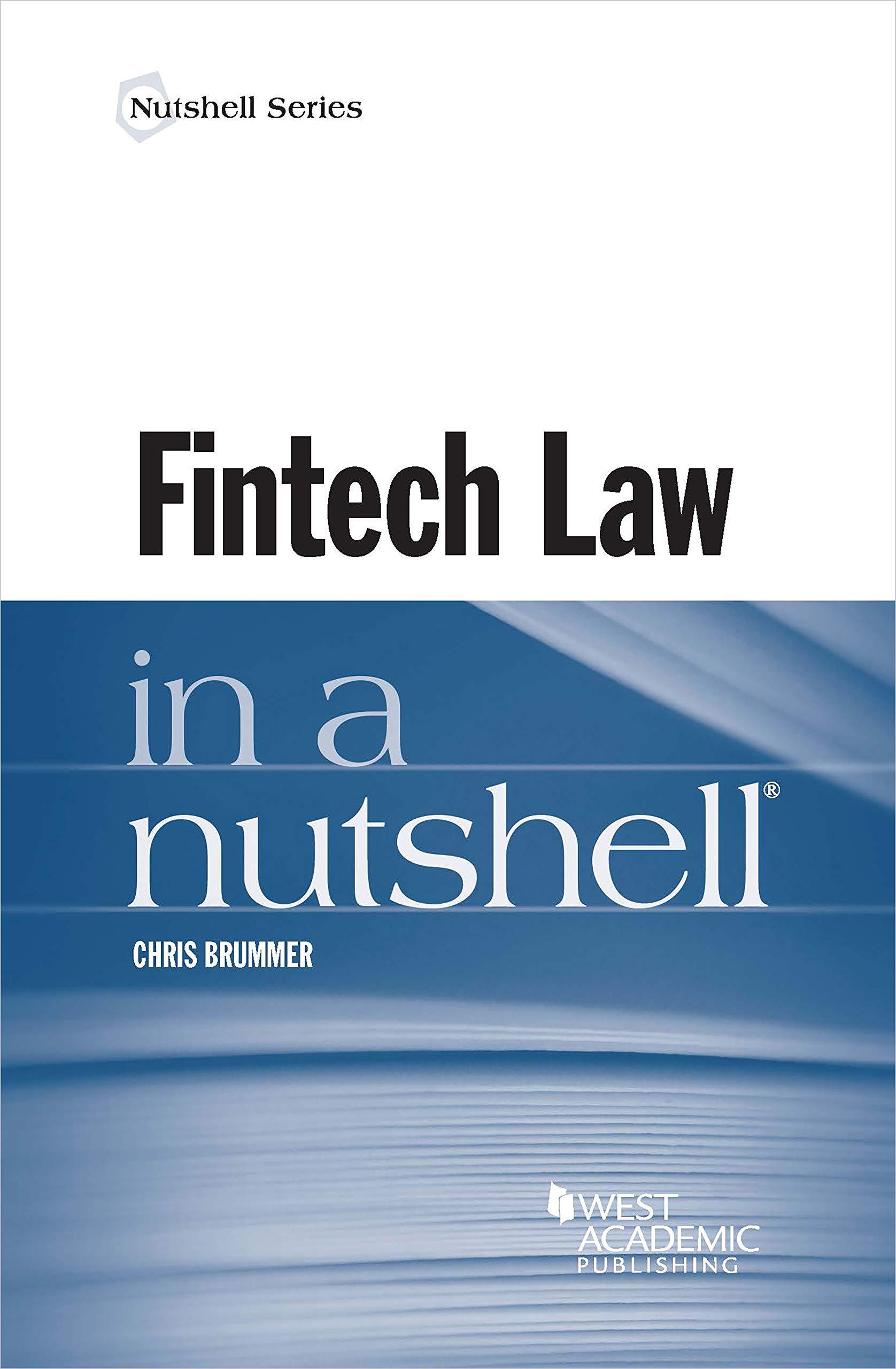 Fintech Law in a Nutshell (Nutshells) (English Edition)