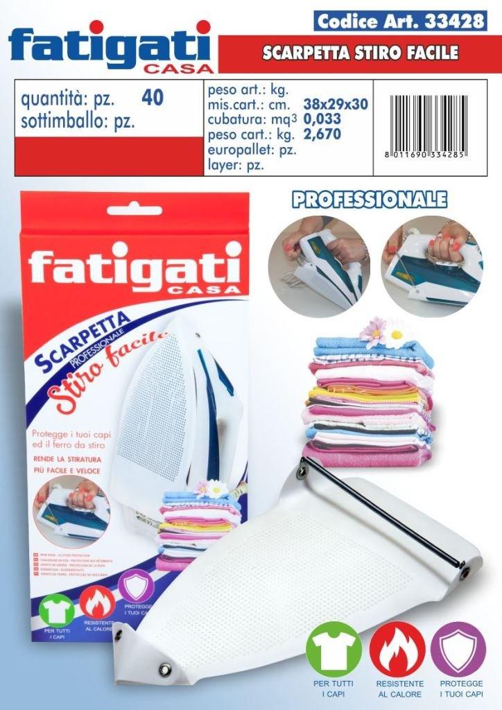 FATIGATI spa Scarpetta sottoferro stirofacile profess.33428 fat