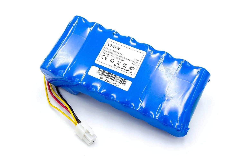 vhbw Batería Li-Ion 4000mAh (18V) para cortacésped, Robot cortacésped Husqvarna Automower 320, 330x (Requiere 2 baterías), 420, 430X, 440, 450X: Amazon.es: ...