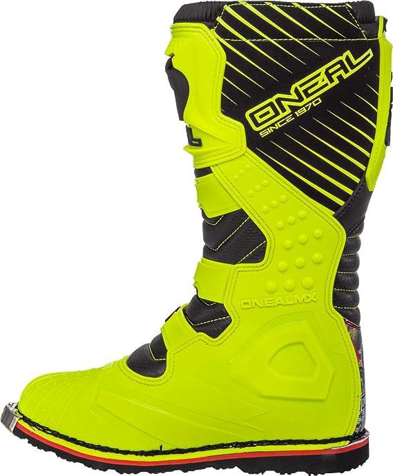 O /'Neal Rider Crank MX MOTOCROSS SUPERMOTO MOTO stivali giallo//nero 2020 One